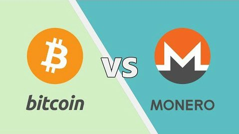 Bitcoin vs Monero